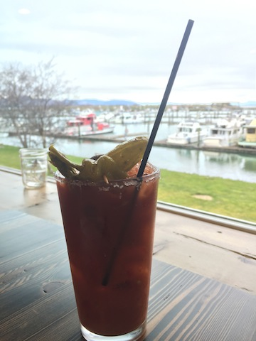 a spicy Bloody Mary