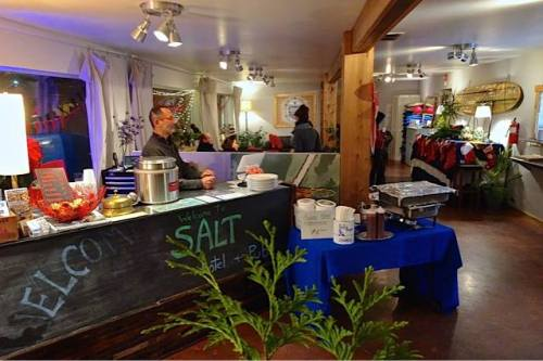 Salt Hotel lobby